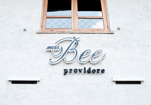 miss bee providore, food on fork