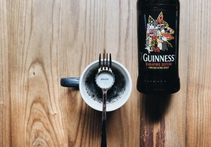 Guinness-Food on Fork